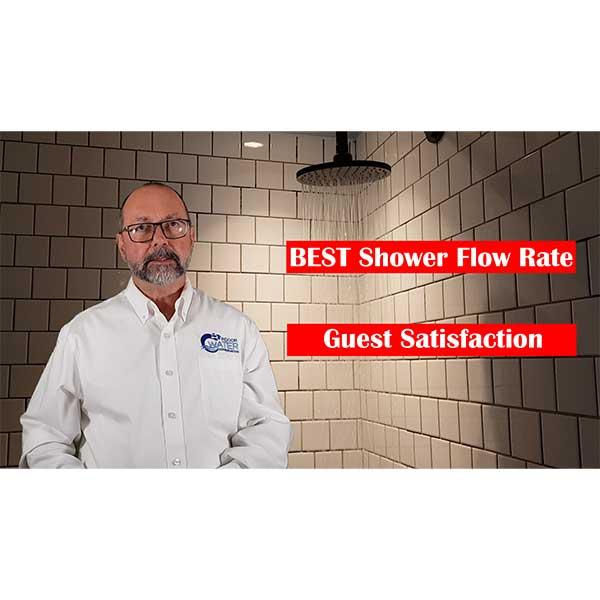 Best Shower Flow Rates