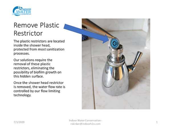 plastic restrictor
